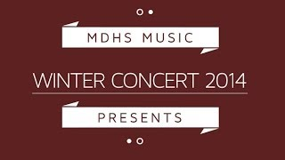 Diary of a Grumpy Elf - Gr9 Red Band - MDHS Winter Concert 2014