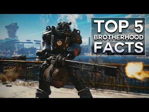 watch Fallout 4 - Top 5 Brotherhood of Steel Facts