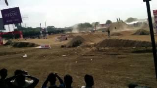 Dirt bike racing in Bangalore 04.11.2016