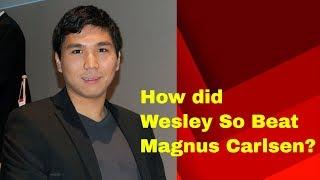 Wesley So Beat Magnus Carlsen in YourNextMove Rapid 2017