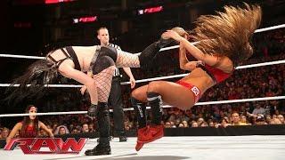 Paige vs. Nikki Bella – Divas Championship Match: Raw, March 23, 2015