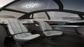 اودي Aicon سيارة جديدة لا تمتلك مقوداً - معرض فرانكفورت 2017