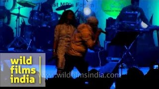 Zubeen and Zublee rocking the stage with Bengali songs