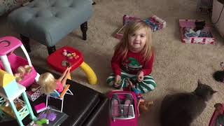 Audrey Nethery loves Barbies!!!