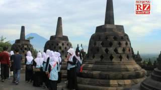 Menikmati Indahnya Candi Borobudur Magelang 2016