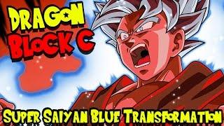 DRAGON BLOCK C UPDATE - SUPER SAIYAN BLUE TRANSFORMATION! + SSJB KAIOKEN! [1.4.15]