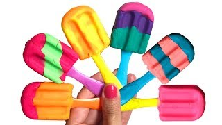 Fun & Creative Play Doh Ice Creams Rainbow Colors Play Dough Toys Play Food
