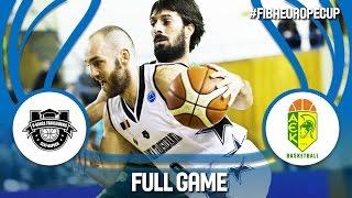 U-BT Cluj Napoca (ROU) v Petrolina AEK (CYP) - Full Game - FIBA Europe Cup 2016/17