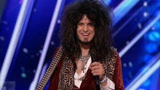 America's Got Talent 2017 Jay Jay Phillips Just the Intro & Comments S12E04 2