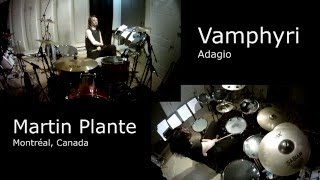 Martin Plante - ADAGIO - Vamphyri  - Drum Cover