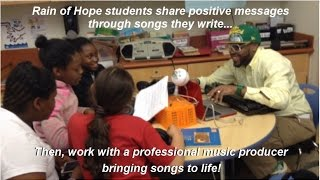 Rain of Hope: Student voice is music to our ears!