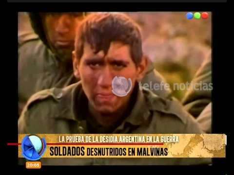 watch Soldados desnutridos en Malvinas y un reencuentro conmovedor - Telefe Noticias