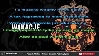 Popek & Matheo - Wakacje (Karaoke, Podkład, Lyrics)
