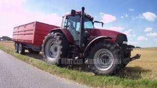 transport zboża / grain transport Case 170 MX