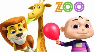 Five Little Babies Going To A Zoo | Five Little Babies Collection | Original Kids Songs