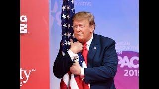 President Donald Trump & First Lady Melania at Flag Presentation Ceremony | USA TODAY