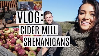 VLOG: Cider Mill Shenanigans | Stephanie Ledda