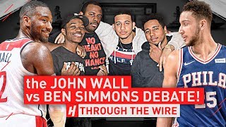 The John Wall vs Ben Simmons Debate | Through The Wire Podcast