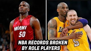 7 Incredible NBA RECORDS Broken By Role Players!
