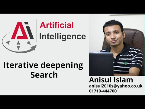Iterative deepening Search English Tutorial
