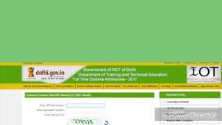 Counselling procedure for cet Delhi polytechnic , how to counsel for cet Delhi polytechnic