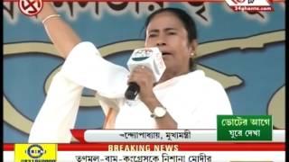 Mamata Banerjee's election campaign before poll 2016