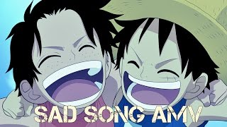 One Piece {AMV} Sad Song