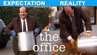 Thanksgiving: Expectation vs. Reality - The Office