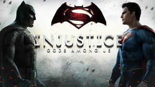 Batman VS Superman MOVIE - Injustice: Gods Among Us All Cutscenes HD