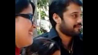 Actor Bala and wife  Amrutha  at farm house