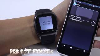 Rwatch M26 LED Bluetooth Smartwatch
