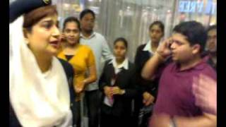 ek503 pareshan passenger in mumbai airport on 04july 2009 part 2