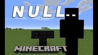 How To Summon Null In Minecraft