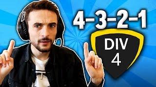 FIFA 17 | 4-3-2-1, DIV 4 !!!