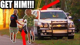 EGGING A COP CAR PRANK!!! (April Fools)