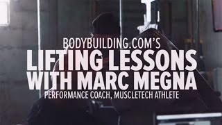 Marc Megna's Lifting Lessons: Single-Arm Dumbbell Row - Bodybuilding.com