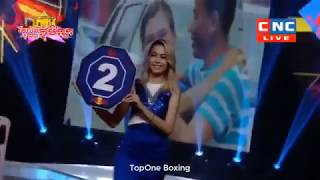 Khmer Boxing,មឿន សុខហ៊ុច ប៉ះ ក្រៀងក្រែ|Moeun Sok Huch Vs Kriangkrai (Thai), Kun Khmer Boxing, CNC TV