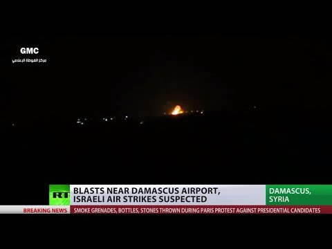 Strikes near Damascus 'in line with Israel policy to stop Iran arms transfers' – Israeli minister
