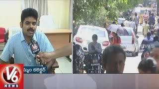 IAS Lokesh Kumar Face To Face || High Temperature Level Record In Khammam District || V6 News