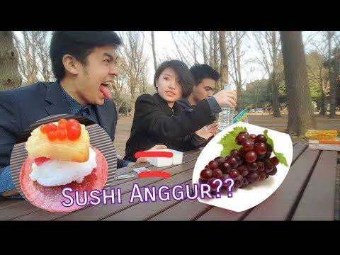 Sushi Rasa Anggur?! *グレープ味のお寿司*