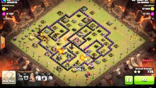 CLASH OF CLANS SILIWANGI VS HERO520 REPLAYS PART 1