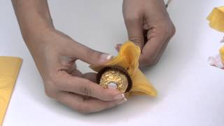 How to make a chocolate bouquet- Fun & Easy