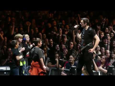 """Ben Invites Kids Onstage & Diary of Jane"" Breaking Benjamin@State College, PA 11718"
