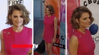 Stana Katic Pretty In Pink CBGB Los Angeles Premiere Arrivals - Castle Actress