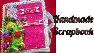 Handmade scrapbook || sweet memories || by Jyoti ||