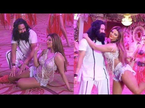 Xxx Mp4 Rakhi Sawant Romance With Baba Ram Rahim Video LEAKED 3gp Sex