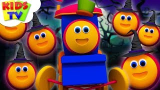 Halloween Rhymes For Children   Halloween Beat Song by Bob The Train   Kids TV