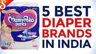 5 Best Diaper Brands in India with Price