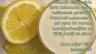 Göbek Eriten Limonlu Yoğurt Kürü …