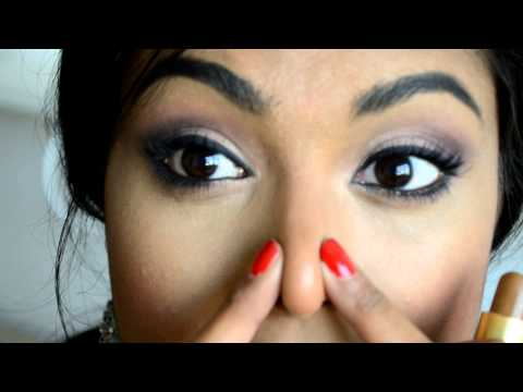 How to make your nose appear Slimmer with makeup! Nose contouring for all nose shapes & sizes